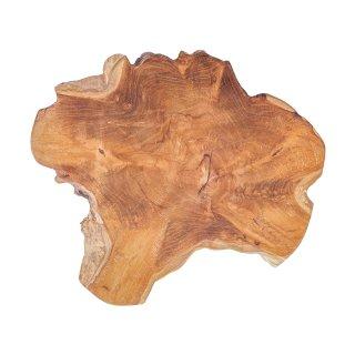 Drewniany talerz ozdobny