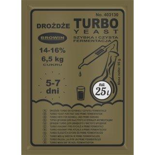 Drożdże Turbo III 87g 72h BROWIN