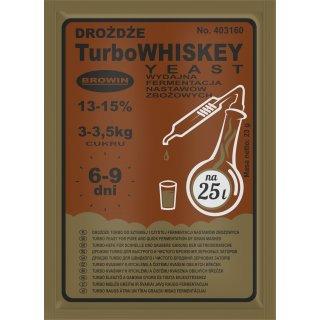 Drożdże gorzelnicze Turbo WHISKEY 23g BROWIN