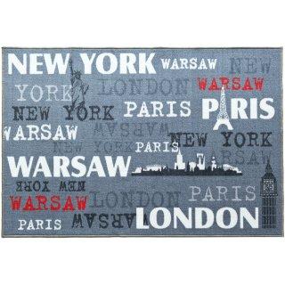 Dywan młodzieżowy Cities Chromojet 100x150 cm