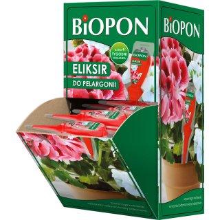 Eliksir do pelargonii i innych roślin balkonowych 32x35 ml + 4 szt BROS