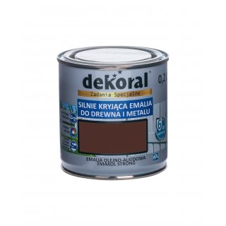 Emakol Strong brąz.ciem.mat.0,2l DEKORAL