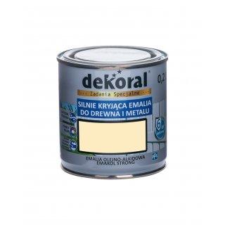 Emakol Strong kość słoniowa 0,2l DEKORAL