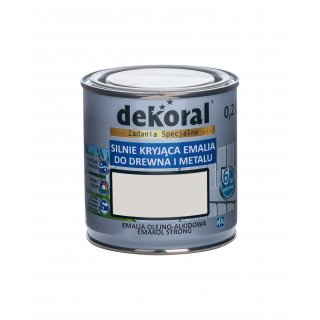 Emakol Strong popielat.mat. 0,2l DEKORAL