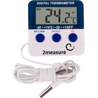 Elektroniczna stacja pogody wew/zew - termometr BROWIN