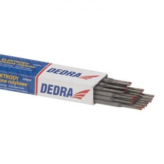 Elektrody spawalnicze 2,5x350 mm 0,5 kg DEDRA