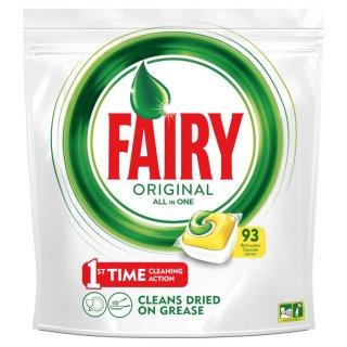 Kapsułki do zmywarki Lemon All in One 93 szt. FAIRY