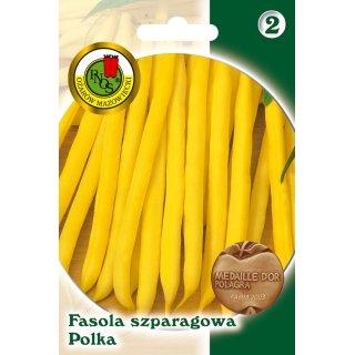 Fasola Szparag.Żółta Karłowa Polka 20 g