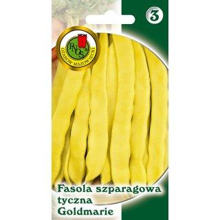 Fasola Szparag.Żółta Tyczna Goldmarie 10 g