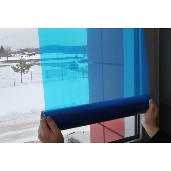 Folia ochronna do okien 600mm x 15 m BLUE DOLPHIN
