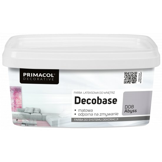 Farba Decobase 1 L Abyss D08 UNICELL