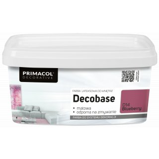 Farba Decobase 1 L Blueberry D14 UNICELL