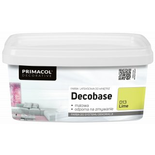 Farba Decobase 1 L Lime D13 UNICELL