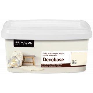 Farba Decobase 1 L Milk D01 UNICELL