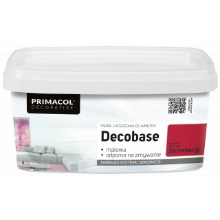Farba Decobase 1 L Strawberry D12 UNICELL
