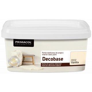 Farba Decobase 1 L Vanilla D02 UNICELL