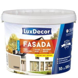 Farba Luxdecor Fasada Kawowy 10 L UNICELL