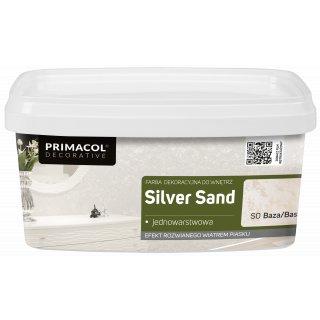 Farba Dekoracyjna Silver Sand 1 L UNICELL