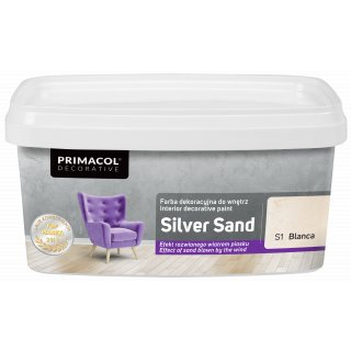 Farba Dekoracyjna Silver Sand 1 L Blanca S1 UNICELL