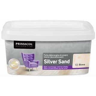 Farba Dekoracyjna Silver Sand 1 L Brava S2 UNICELL