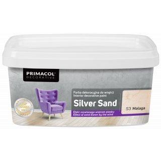 Farba Dekoracyjna Silver Sand 1 L Malaga S3 UNICELL