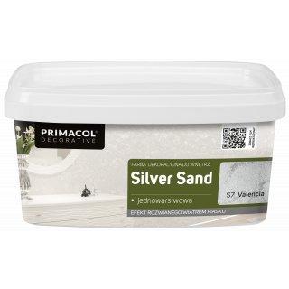 Farba Dekoracyjna Silver Sand 1 L Valencia S7 UNICELL