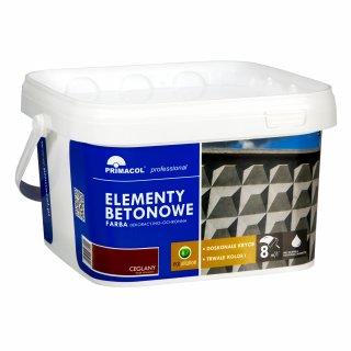 Farba do elementów betonowych bordowy 2,5 L UNICELL