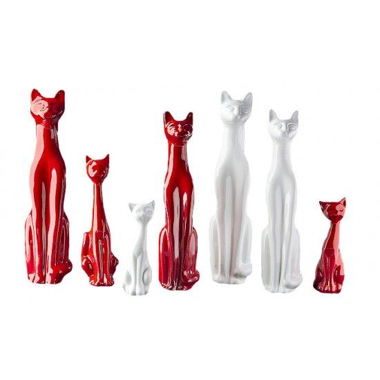 Figurka Kot długi 4 EKO-CERAMIKA