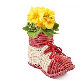 Osłonka doniczkowa w kształcie buta TIN TOURS