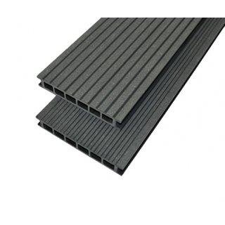Deska tarasowa szczotkowana Noble dwustronna 25x140x2400 grafit GAMRAT TRADE