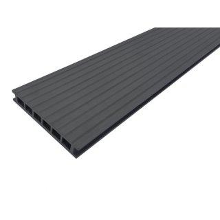 Deska tarasowa nieszczotkowana 25x140x2400 grafit GAMRAT TRADE