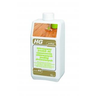 Intensywny środek czyszczący podłogi olejowane 1 L HG