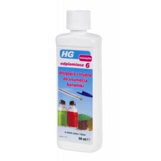 Odplamiacz do trudnych do usunięcia barwników 50 ml HG