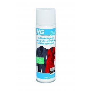 Odświeżający spray do ubrań 0,4 L HG
