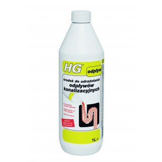 Środek do udrażniania odpływów kanalizacyjnych 1L HG