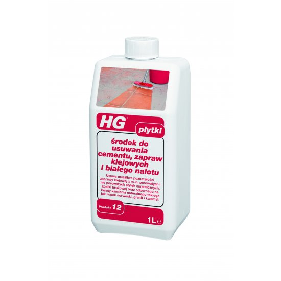 Środek do usuwania cementu, zapraw klejowych 1 L HG
