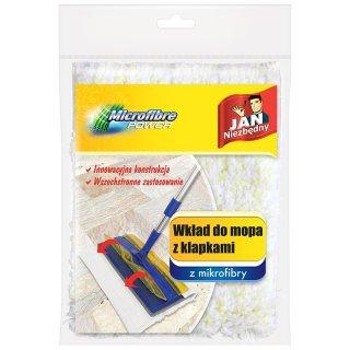 Wkład wymienny do mopa z klapkami JAN NIEZBĘDNY
