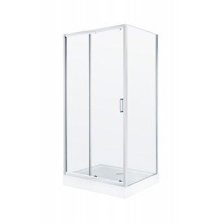 Kabina prysznicowa prosta 100x80 cm Doris LIVENO
