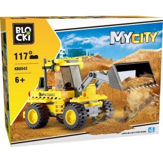 Klocki Na Budowie MyCity 117 elementów BLOCKI