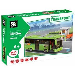 Klocki Autobusy Transport 364 elementy BLOCKI