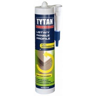 Klej montażowy do paneli, listew, profili 310 ml TYTAN