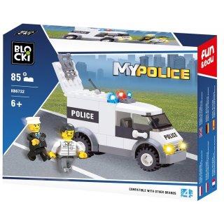 Klocki Policja 85 elementów BLOCKI