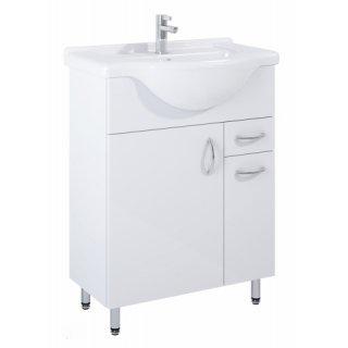 Szafka łazienkowa z umywalką Agawa 65 ELITA