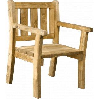 Krzesło ogrodowe drewno sosnowe COMPLEX