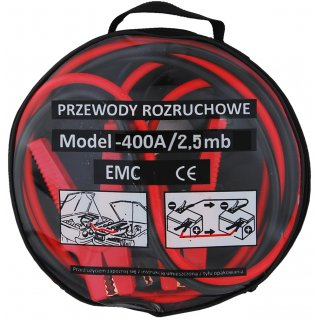 Kable rozruchowe 400A 2,5m PROFAST