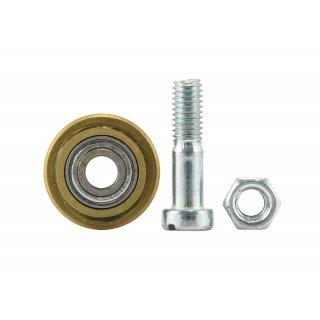 Kółko 22/6 mm HM łożyskowane ze śrubą do 1163-080 DEDRA