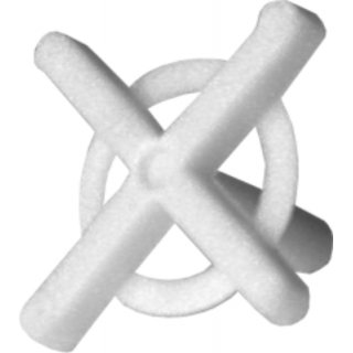 Krzyżyki do płytek, glazury 2,0 mm 100 szt. DEDRA