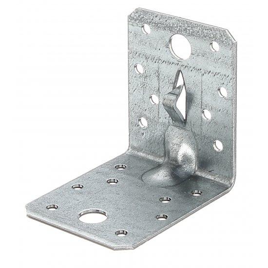 Łącznik kątowy z kolcem 70x70x55 GAH ALBERTS