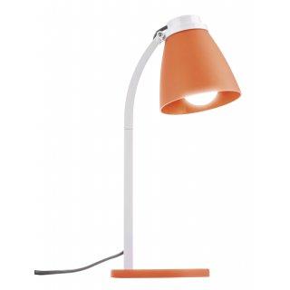 Lampa biurkowa Lolli z żarówką LED 6W E14 pomarańczowa EMOS