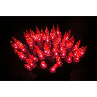 Lampki choinkowe klasyczne amarantowe 100 lampek BULINEX
